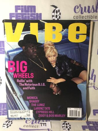 Vibe Magazine (October 1995) Notorious B.I.G., Faith Evans [T77]