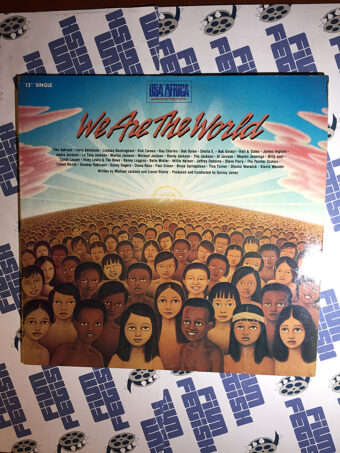 We Are the World 12 inch Vinyl Single (1985)