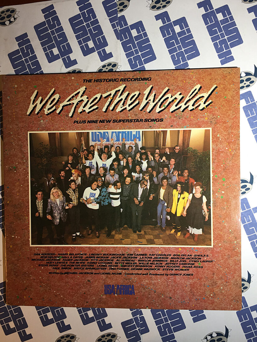 We Are the World Album Including Nine Previously Unreleased Songs Vinyl Gatefold (1985)