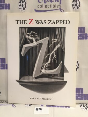 The Z Was Zapped: A Play in Twenty-Six Acts Picture Book Paperback by Chris Van Allsburg