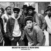 Beastie Boys and RUN DMC Amsterdam 1987 33×23 inch Music Poster