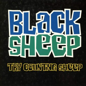 Black Sheep Try Counting Sheep Limited Edition 7 inch Vinyl
