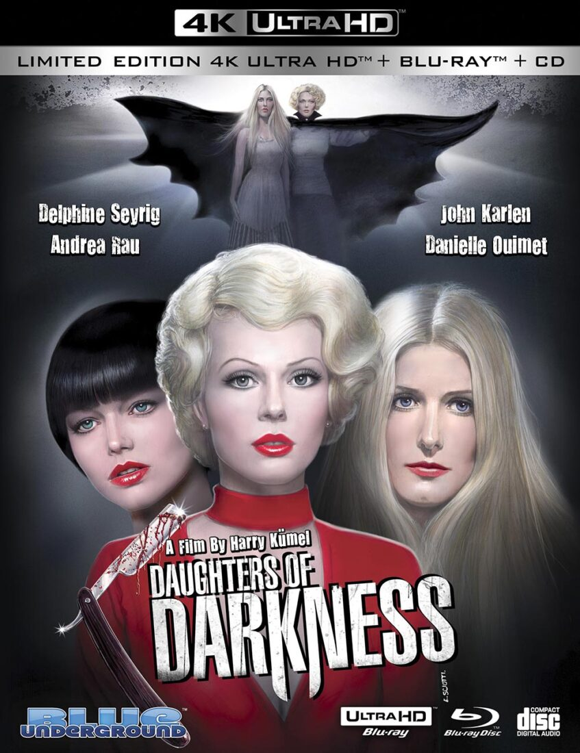 Daughters of Darkness 3-Disc Limited Edition 4K UHD + Blu-ray + Soundtrack CD