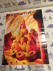 Eye Witness Unknown God 18 x 24 inch SIGNED Promotional Comic Poster [I96]