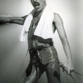 Queen: Freddie Mercury with Towel 23×33 inch Music Concert Poster