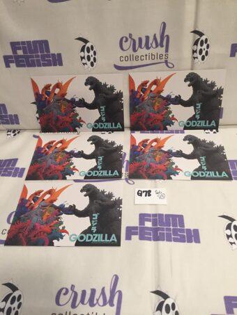Set of 5 Godzilla (Gojira) Promotional Postcards Waxwork Records (2021) [Q78]