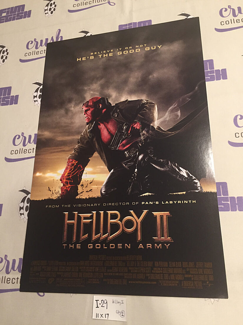 Hellboy II: The Golden Army 11 x 17 inch Promotional Movie Poster [I29]