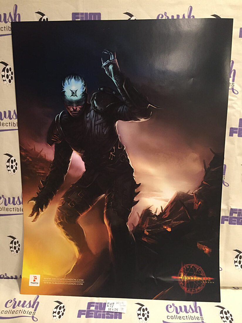 Hellgate London 18 x 24 inch Promotional Gaming Poster [I97]