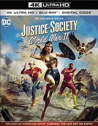 Justice Society: World War II 4K Ultra HD + Blu-ray + Digital with Slipcover