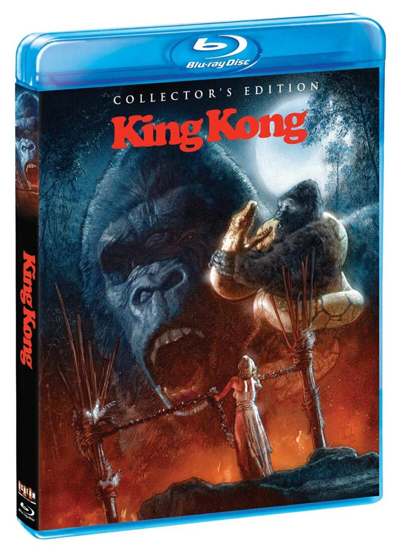 King Kong 2-Disc Special Edition Blu-ray Set with Slipcover