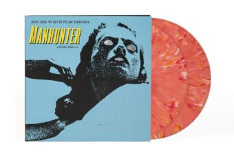 Manhunter Original Motion Picture Music Soundtrack Special 2LP Bright Red Vinyl Edition