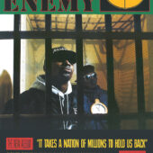 Public Enemy It Takes A Nation 24×36 inch Hip Hop Music Poster
