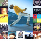 Queen Albums and Freddie 24×36 inch Music Poster