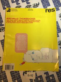 RES Magazine (Vol. 8 No. 1) Mike Mills, Jeremy Blake [12117]