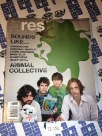 RES Magazine (Vol. 8 No. 6) Animal Collective, DangerDoom, Christian Marclay [12132]