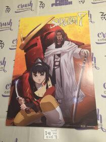 Akira Kurosawa's Samurai 7 12 x 18 inch Double-Sided Promotional Anime Movie Poster [I41]