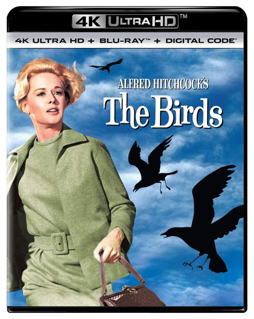 Alfred Hitchcock's The Birds 4K UHD + Blu-ray + Digital Edition with Slipcover