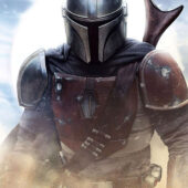Star Wars The Mandalorian Ready for Battle 22 x 34 inch Television Series Poster