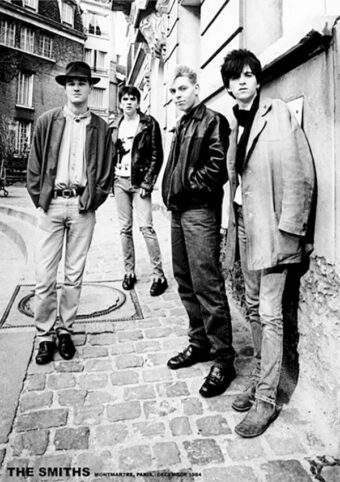 The Smiths in Paris1984 23×33 inch Music Poster