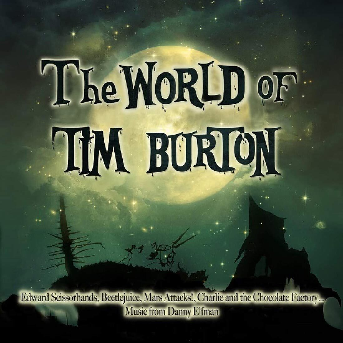 The World of Tim Burton 2-Disc Limited Vinyl Soundtracks Edition