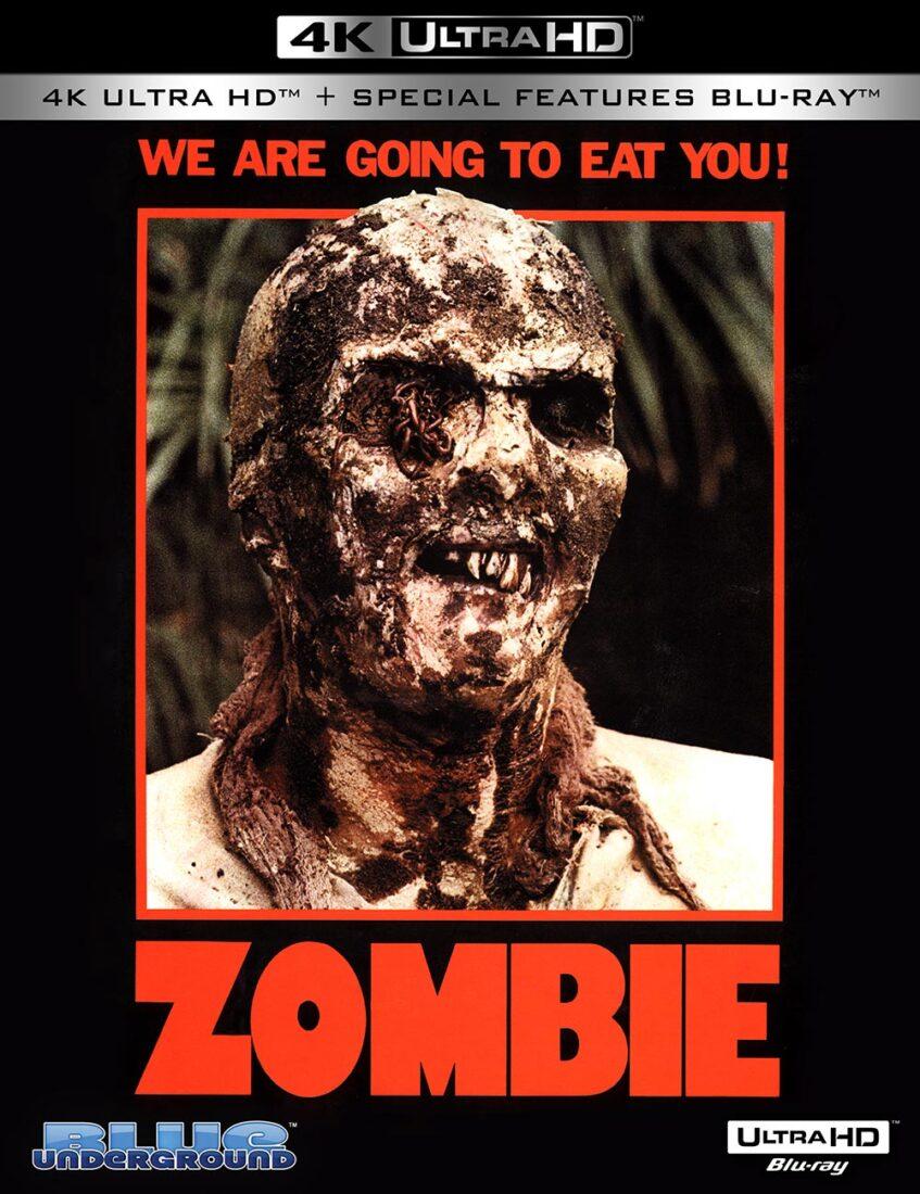 Lucio Fulci's Zombie (Zombi 2) 4K UHD Blu-ray Edition