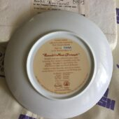 Walt Disney's Bambi Bambi's New Friends Limited Edition Collector Plate (1991) [U54]