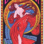 Bob Dylan Paul Simon Meadows Music Theatre (July 24, 1999) Budweiser Concert Series 12×25 inch Concert Poster