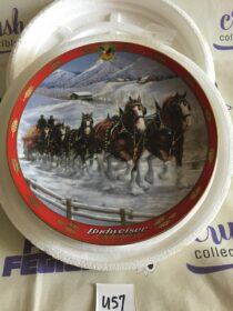 Budweiser Clydesdales by Susie Morton Limited Edition Collector Plate (1998) [U57]