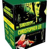 The Eurocrypt of Christopher Lee Collection 8-Disc Collector's Set Blu-ray + CD + Book