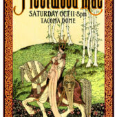 Fleetwood Mac at Tacoma Dome (October 11, 1997) 16×23 Inch Music Concert Poster