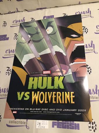 Hulk vs. Wolverine Original 13×19 inch Promotional Movie Poster [i91]