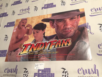 Indyfans and the Quest for Fortune and Glory Original 17×11 inch Movie Poster [I07]