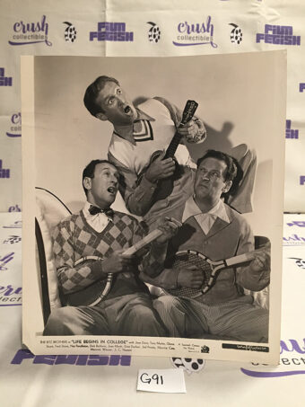 The Ritz Brothers Life Begins in College Original 8×10 inch Press Photo Lobby Card [G91]