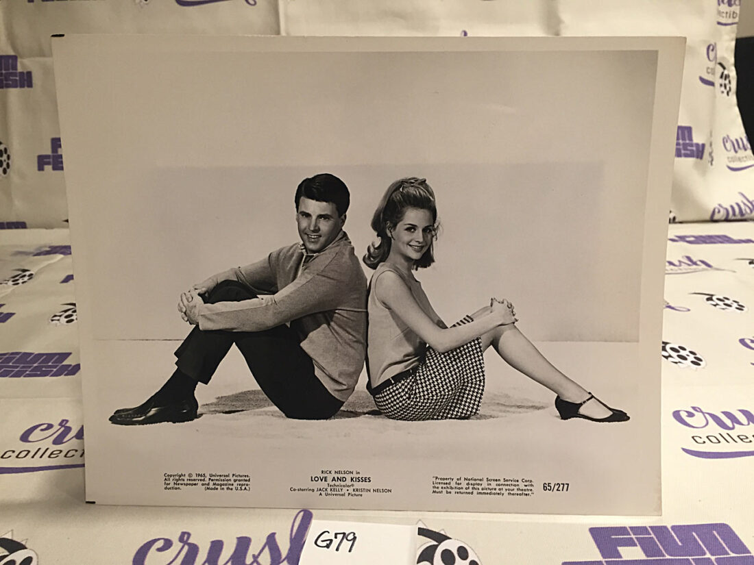 Love and Kisses Original 8×10 inch Publicity Press Lobby Card Photo [G79]