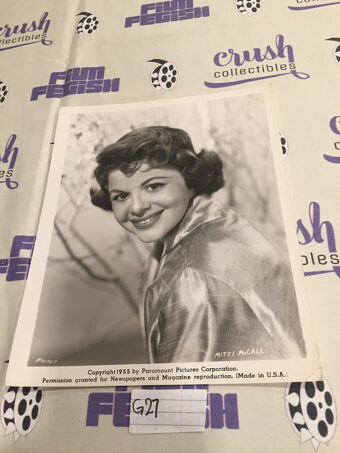 You're Never Too Young, Mitzi McCall Original 8×10 inch Press Photo Lobby Card [G27]