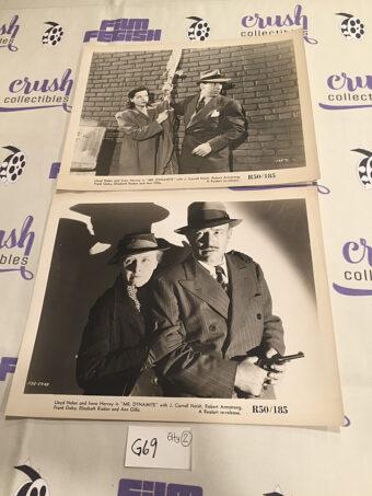 Mr. Dynamite Set of 2 Original 10×8 inch Press Lobby Card Photos [G69]