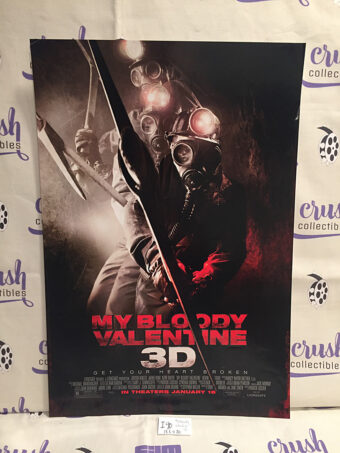My Bloody Valentine 3D 13×20 inch Promotional Movie Poster [I90]