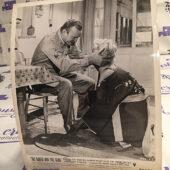 The Naked and the Dead Original 8×10 inch Press Photo Lobby Card, Aldo Ray, Barbara Nichols [G83]