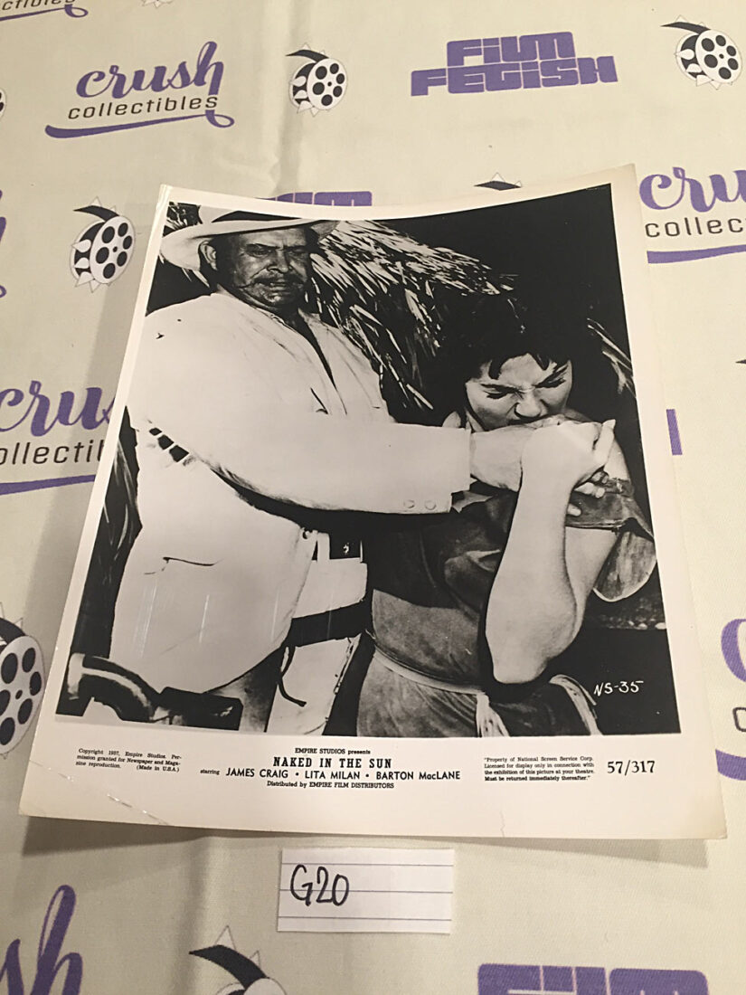 Naked in the Sun Original 8×10 inch Press Photo Lobby Card [G20]