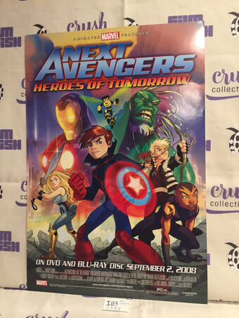 Next Avengers: Heroes of Tomorrow Original 13×19 inch Animated Movie Poster [I83]
