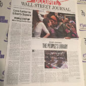 The Occupied Wall Street Journal Protest Movement Newspaper (Saturday, October 22, 2011) [I51]