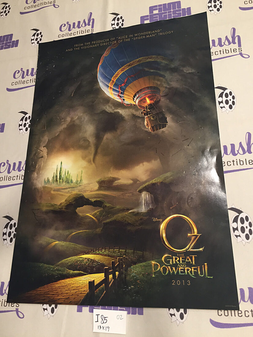 Oz the Great and Powerful (2013) Original 13×19 Promotional Movie Poster [I85]
