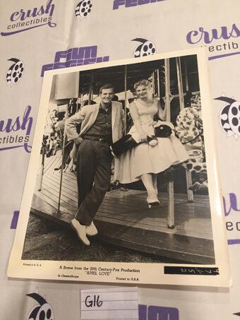 April Love Original 8×10 inch Press Photo Lobby Card, Pat Boone, Shirley Jones [G16]