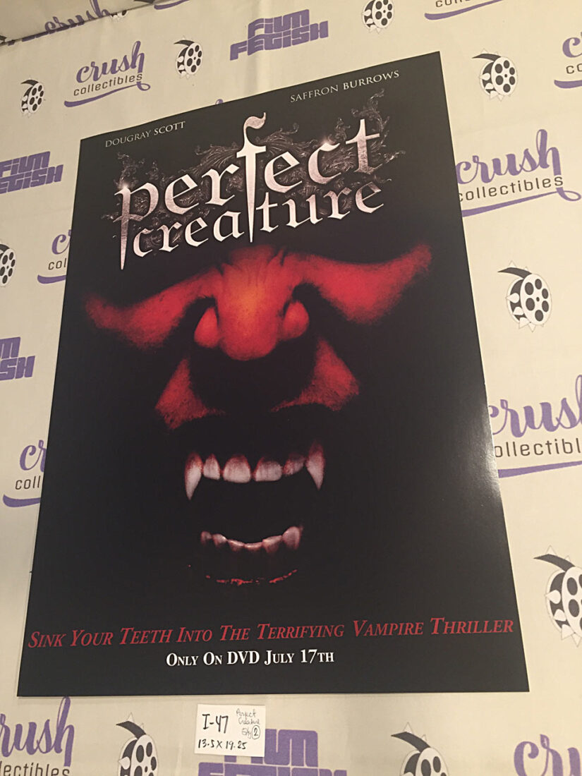 Perfect Creature Original 13×19 inch Promotional Movie Poster