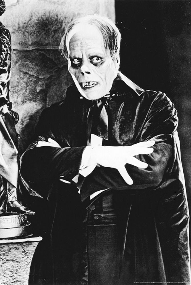 The Phantom of the Opera – Lon Chaney (1925) 24 X 36 inch Movie Poster