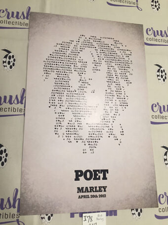 Marley (2012) Documentary Original 11×17 inch Promotional Movie Poster [I78]