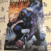 Prototype Comic Book Original 11×17 inch Promotional Poster, Jim Lee Artwork, WildStorm (2009) [I67]