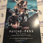 Psycho-Pass / Robotics-Notes Funimation Anime TV Series Original 12×18 inch 2-Sided Promotional Poster [I54]