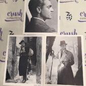 Set of 3 Original 7×9 inch Publicity Press Photos – James Cagney, Rudolph Valentino, Humphrey Bogart [F91]