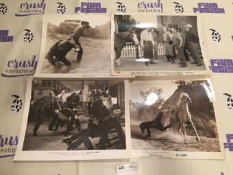 Mixed Set of 4 Original 10×8 inch Western Movie Press Lobby Cards [G01]